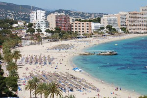 casafari magaluf beach white sand
