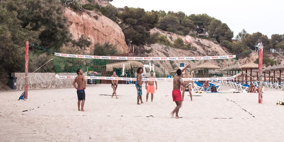 Beach Volleyball Playa Puerto Portals Nous Platja s'Oratori