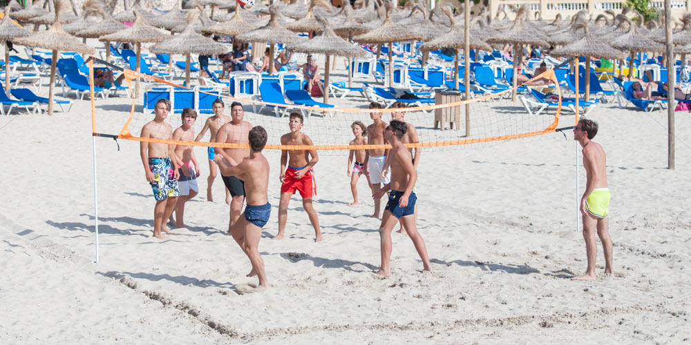 Camp de Mar Beach volleyball real estate search neighbourhood guides Mallorca Casafari
