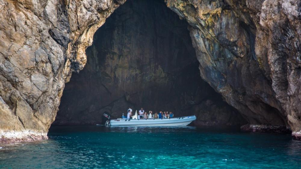 Blue Cave Cova Blava Cabrera