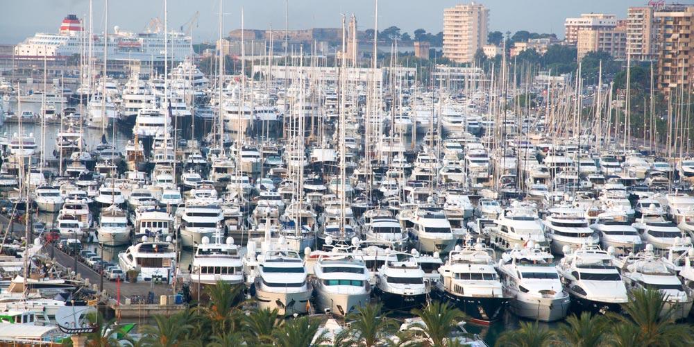 Palma Mallorca Harbour marina yachts
