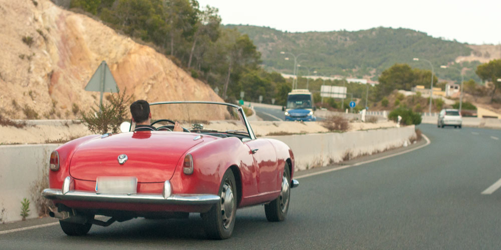 Classic Car -Alfa-Romeo-Highway Majorca