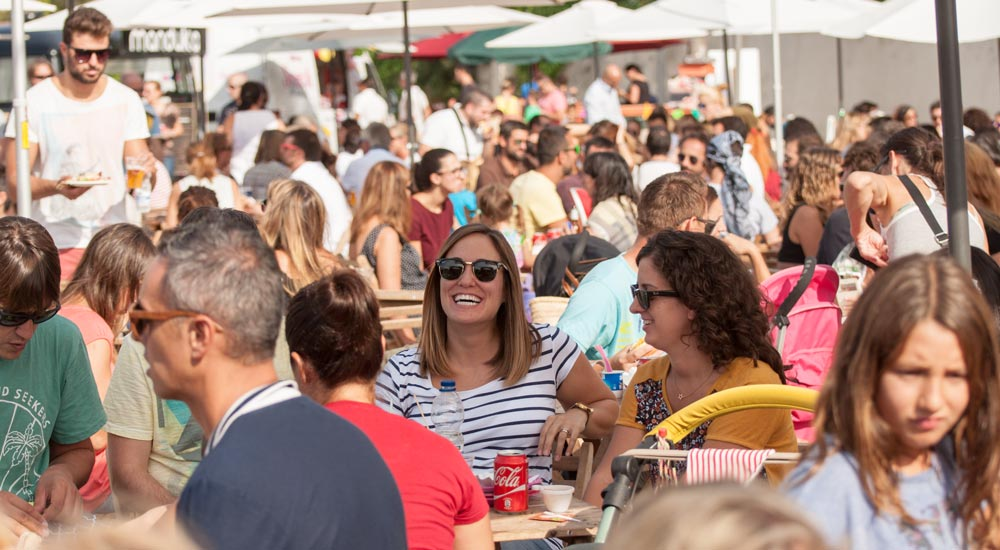 El-Toro-local-residents-at-street-food-festival-port-adriano-mallorca