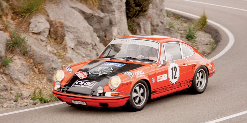 Oris Classic Car Rally Puerto Portals Nous in Mallorca