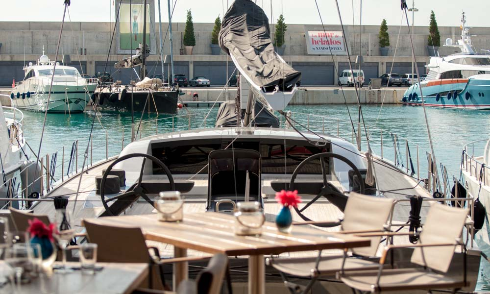 Port Adriano sailing super yacht Baltic 108 win win grill restaurant bruno real estate mallorca neighbourhood guides casafari