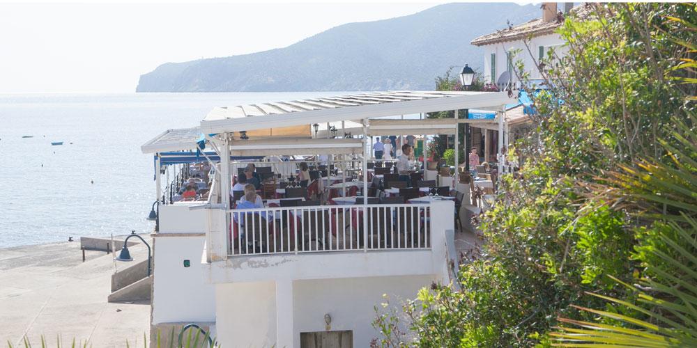 Sant Elm restaurant view Mallorca real estate search Casafari