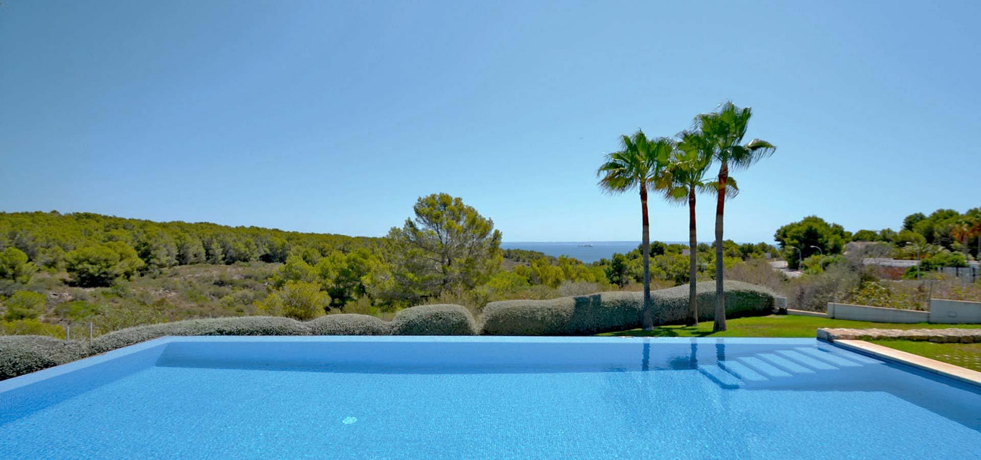 Spectacular Sol de Mallorca property view.