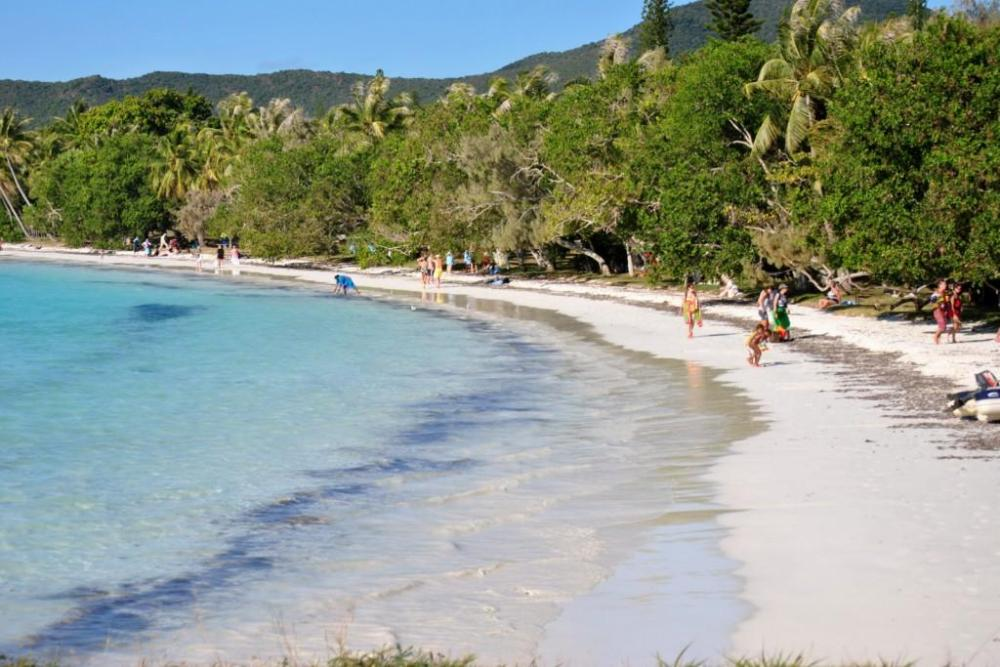 isle pines beach formentera island