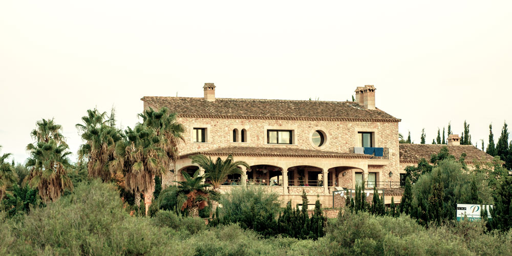 Traditional house of Son Gual property market.