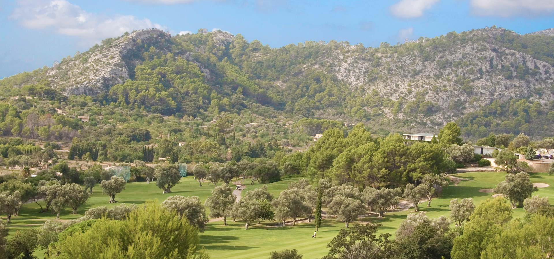 Golf Pollensa property owners enjoy the best golfing time with exclusive views of the course from local villas.