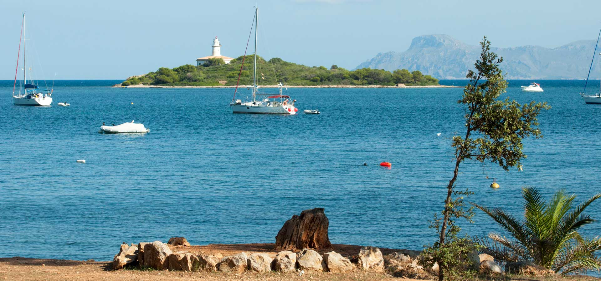 Alcanada property market is set in the middle of a beautiful nature of Mallorca.