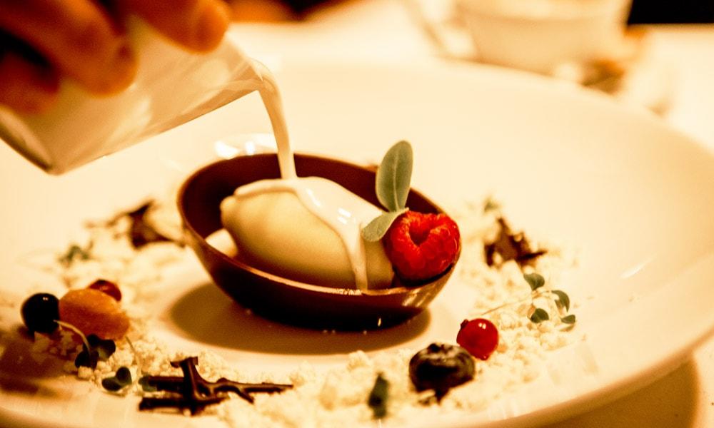 Oliu Restaurant gourmet michelin spain mallorca molecular cuisine kitchen andratx