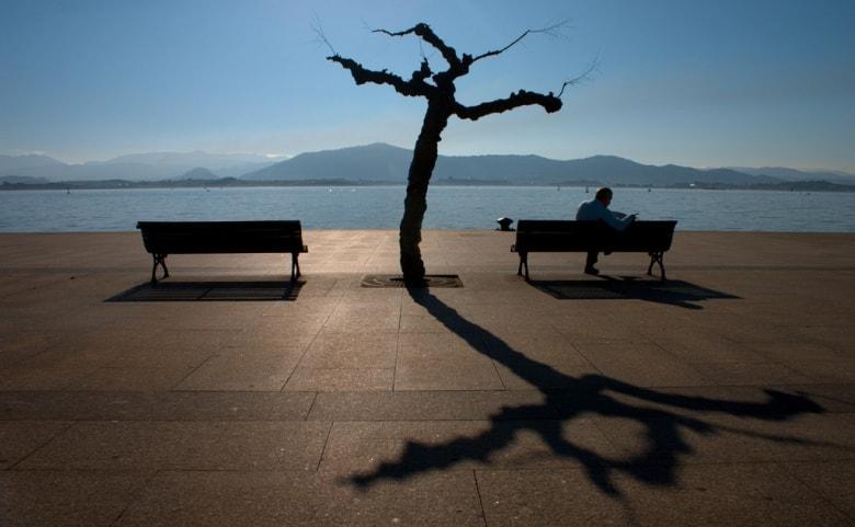 muelle calderon puerto de santander cantabria sitting on the dock of the bay sunshine spain casafari
