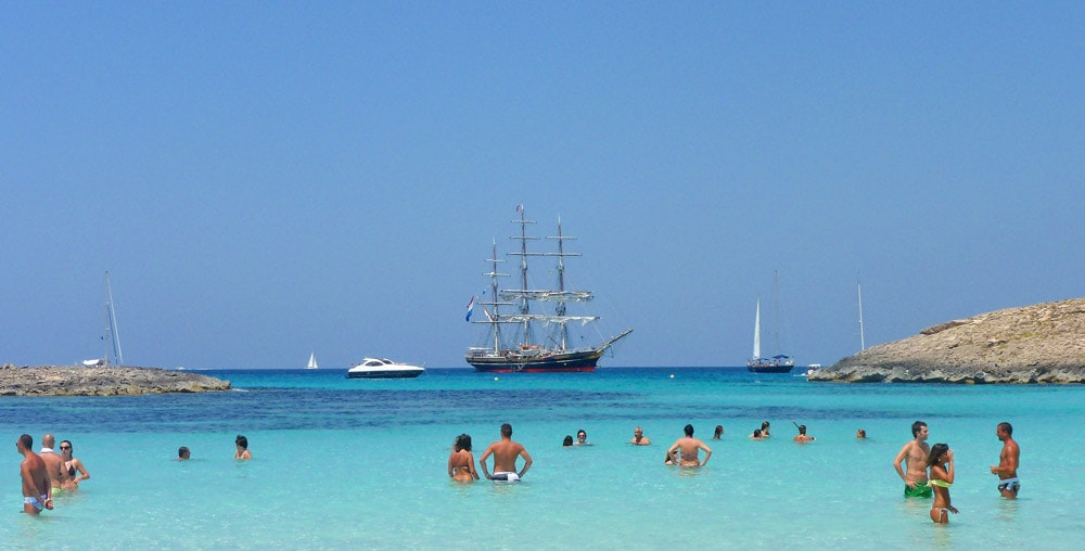 playa illetas formentera ibiza beaches spain casafari