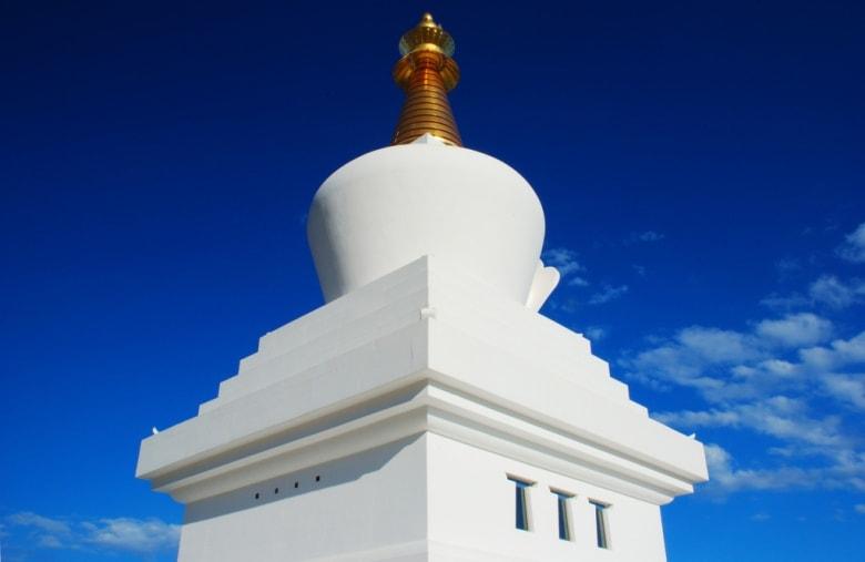 Benalmadena stupa malaga spain andalusia