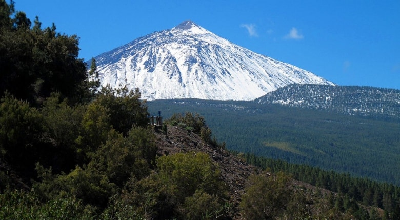 teide nevado mountains spain tenerife canary islands casafari