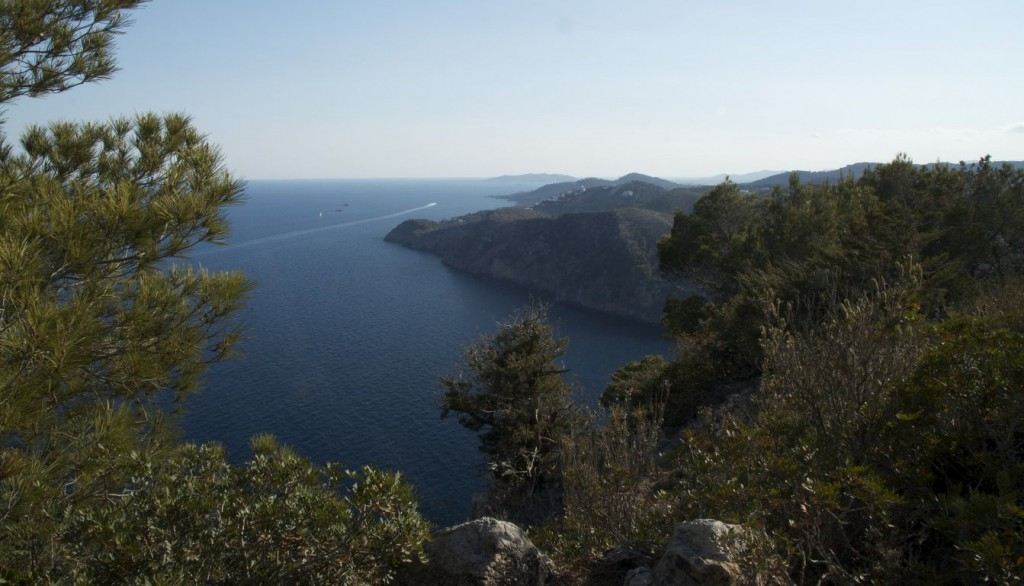 Santa Eularia property market is surrounded by Ibiza's natural beauty.
