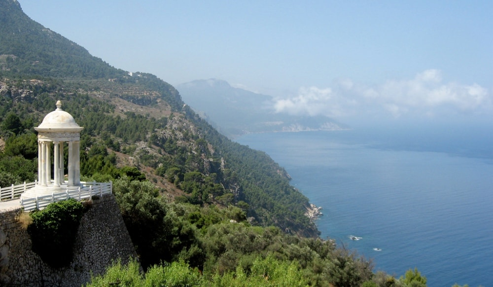 Son Marroig is one of the favorite viewpoints of Deia property owners.