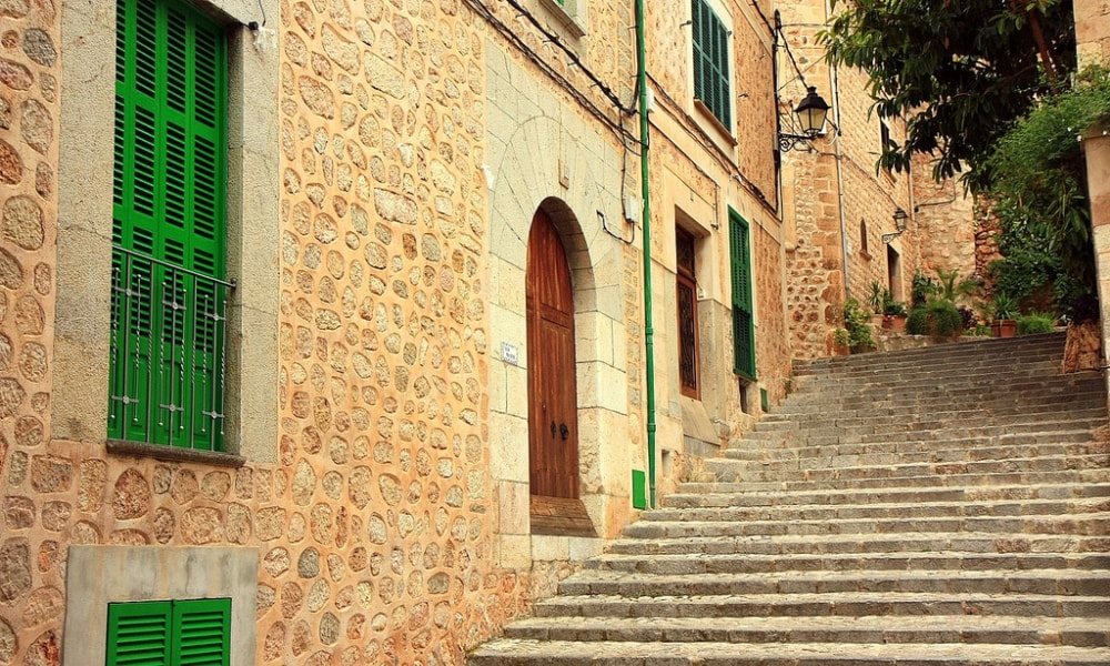 fornalutx village townhouses properties soller mallorca