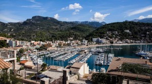 port soller yachts harbour beach mallorca