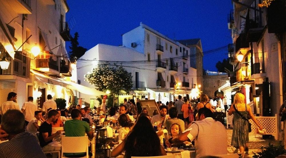 dalt vila ibiza eivissa restaurants spain