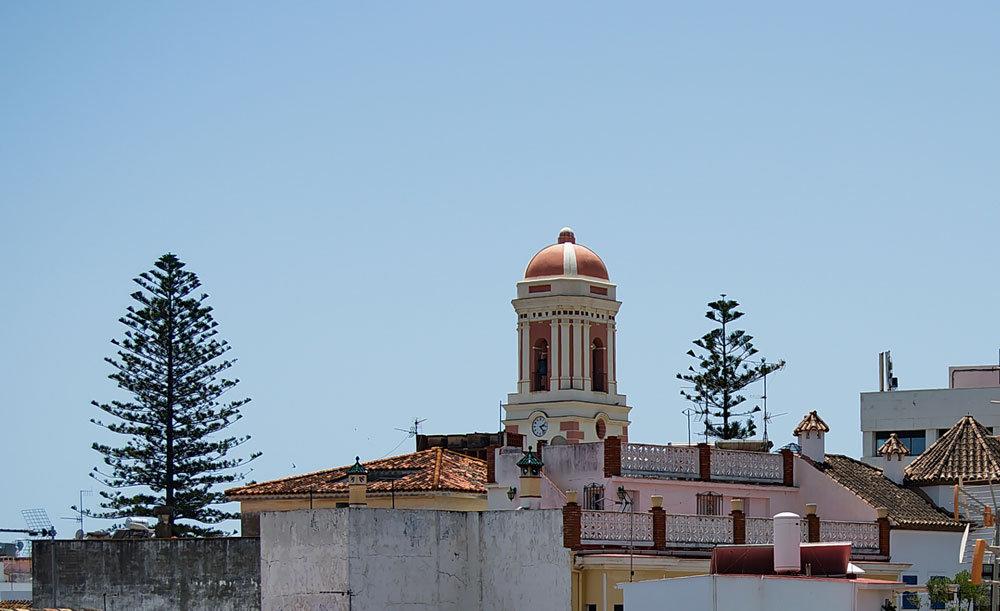 Estepona Old town property selection is surrounded by historical buildings.