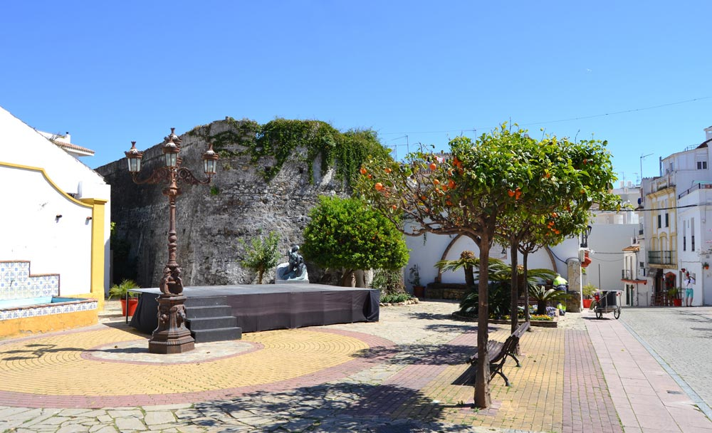 Caste of San Luis is one of the historical monuments typical for Estepona Old Town property ambiance..