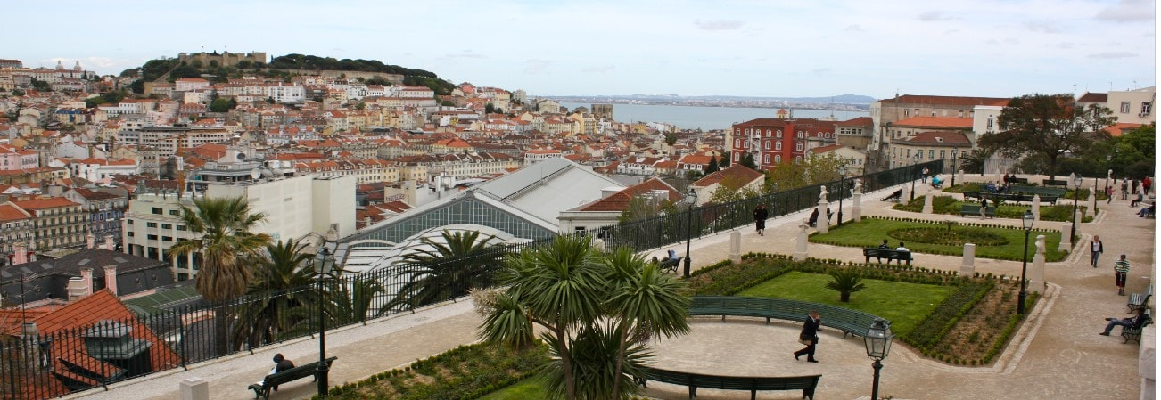 View from a Bairro Alto property