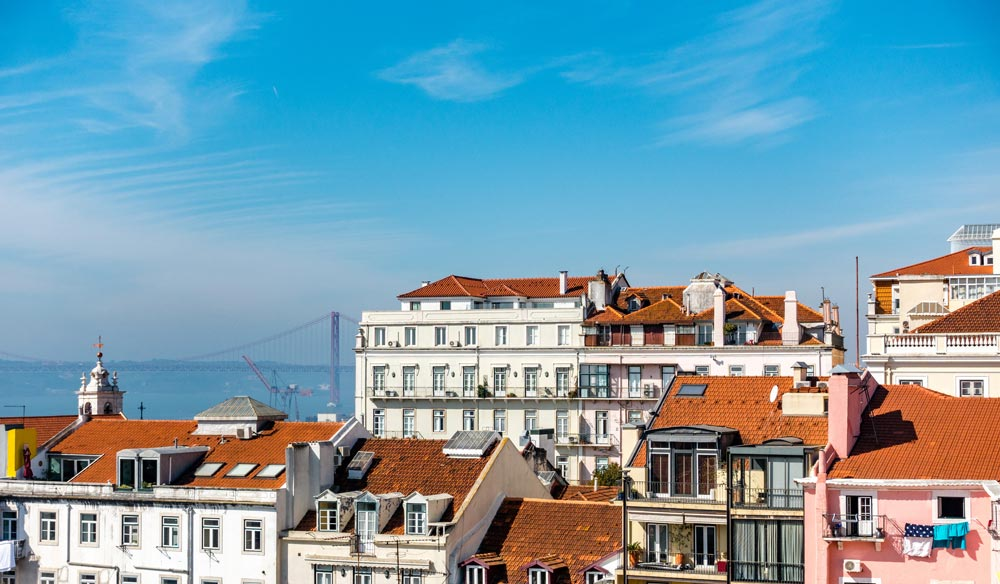 Amazing views from Bairro Alto property.