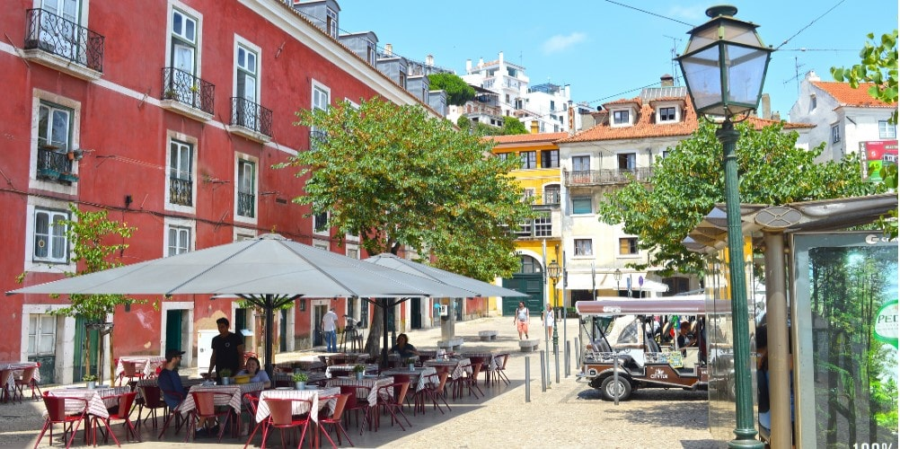 alfama property owners enjoying portuguese cuisine in santa maria maior lisbon portugal casafari