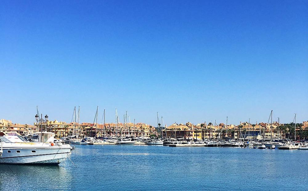 Sotogrande Alto property market is situated just minutes above the local marina.
