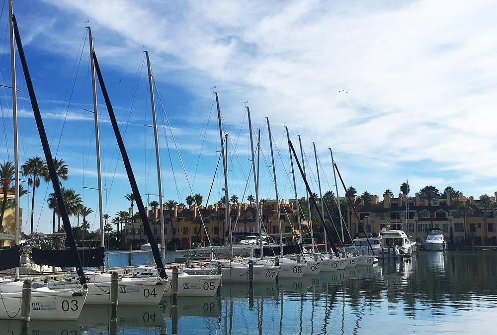 Sotogrande property buyers have the best sailing opportunity in the south of Spain.