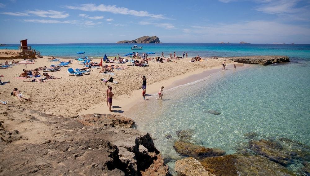 cala comte beach ibiza san augustin ibiza spain casafari