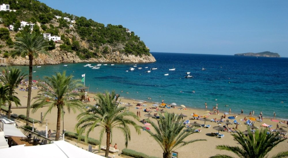 Cala de Sant Vicent property buyers enjoy beautiful beaches of the area.