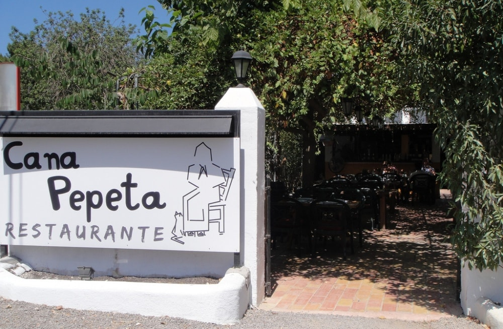 cana pepeta restaurant san-lorenzo ibiza spain casafari