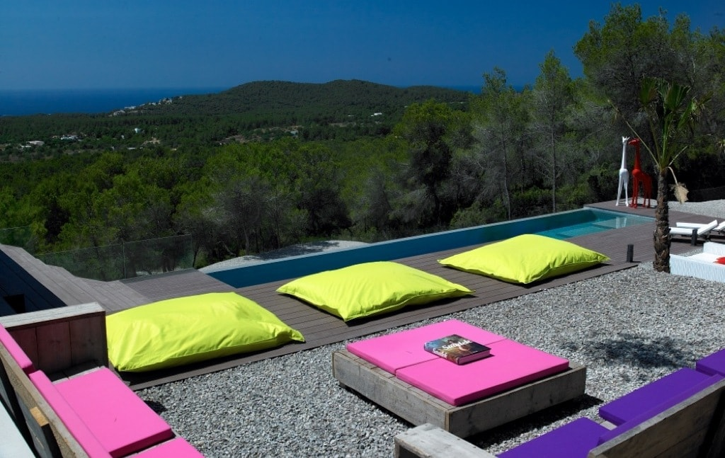 Es cubells property market offers villas with stunning views.