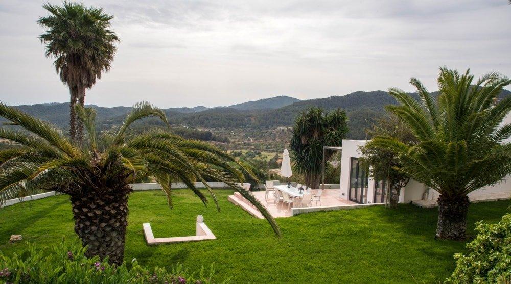 villa palmtree garden sant josep de sa talaia ibiza spain