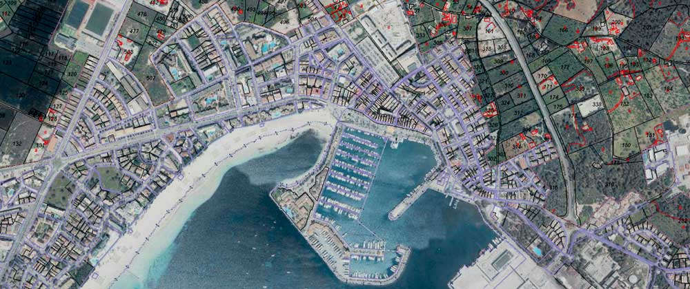 Cadastre data buy property spain majorca alcudia alcudiamar casafari