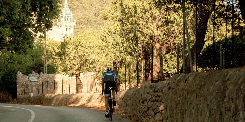 Cycling Serra Tramuntana historic villages valldemossa