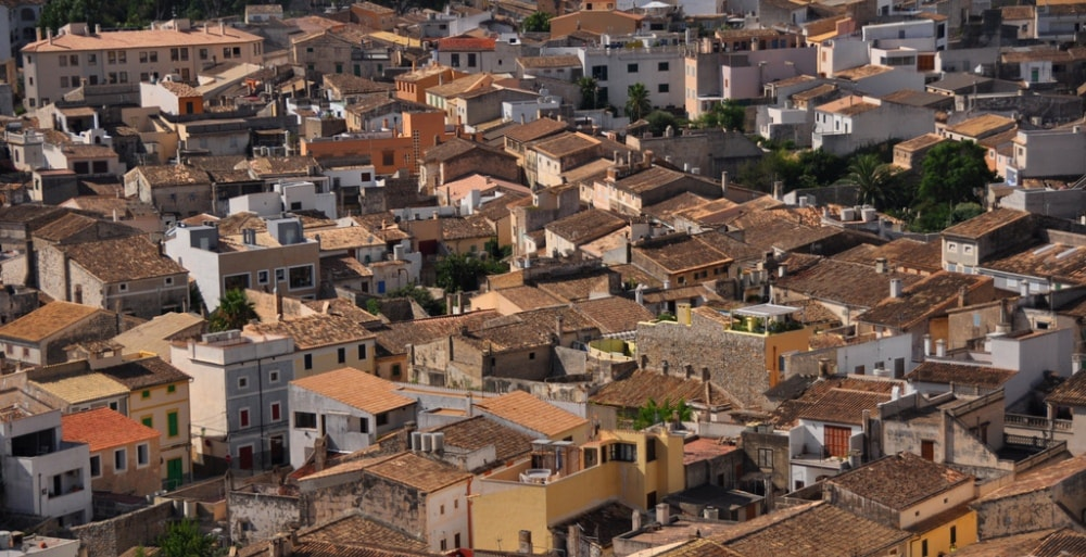 arta town townhouses mallorca spain