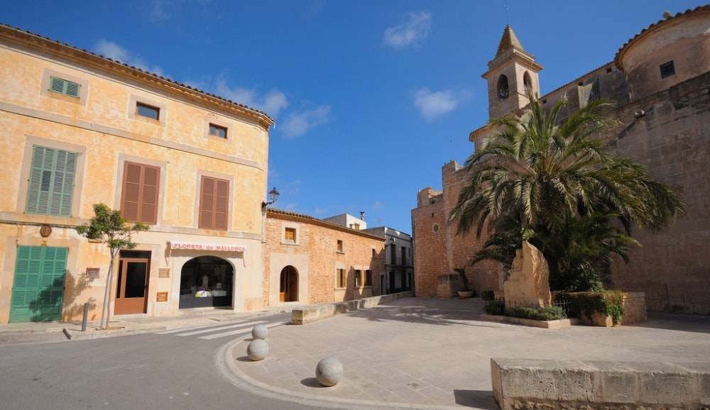 church santanyi mallorca