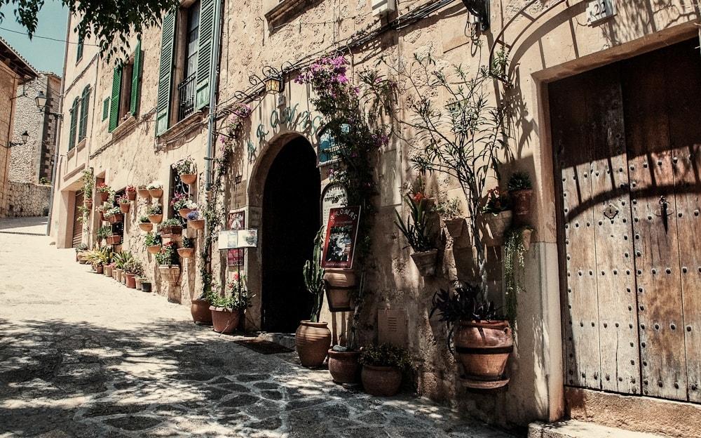old streets valldemossa mallorca