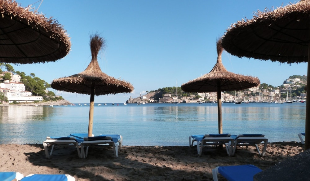 platja repic beach soller mallorca