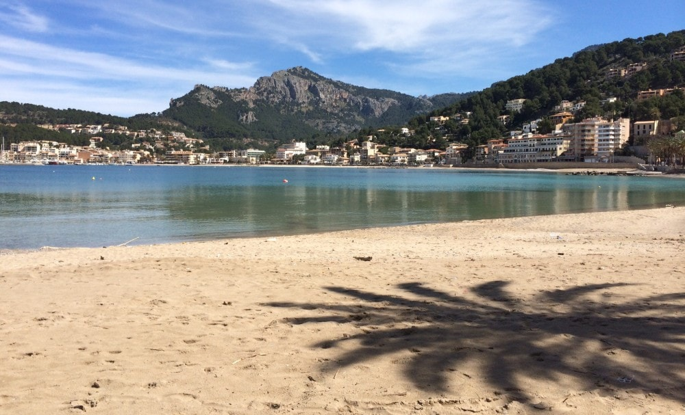 Beachfront apartments of Port Soller property market.