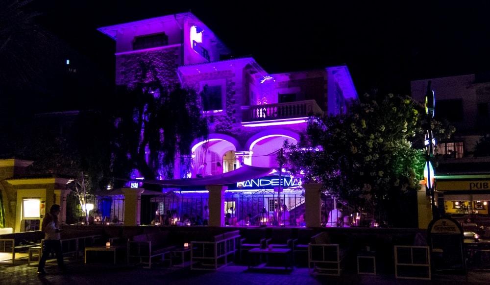 restaurant randemar at night port soller mallorca
