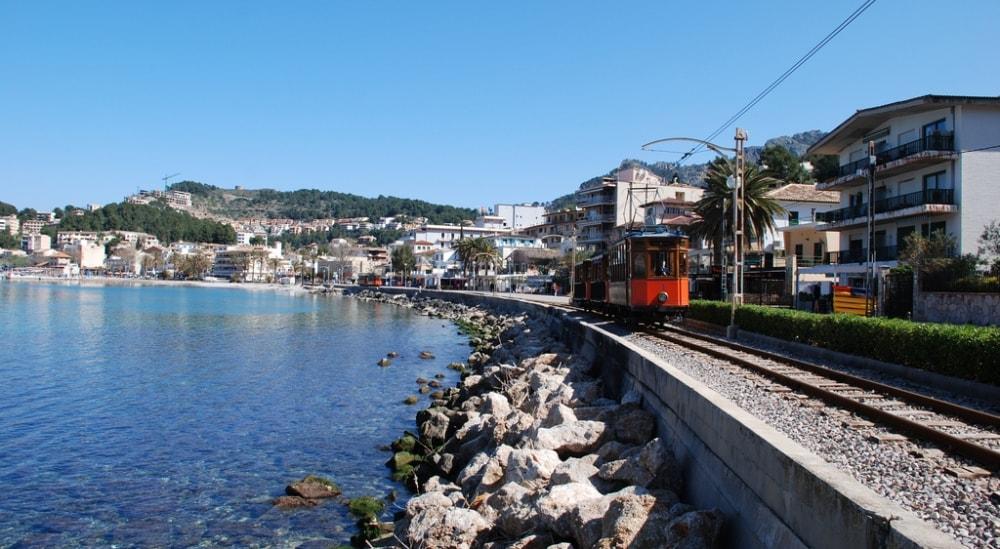tram soller port mallorca