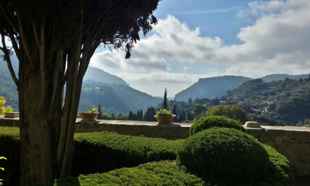 Valldemossa property owners enjoy admiring views from the local monastery.