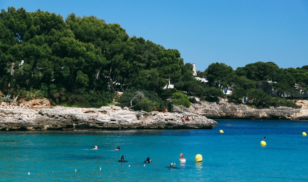 Cala d'Or property owners enjoying free time.