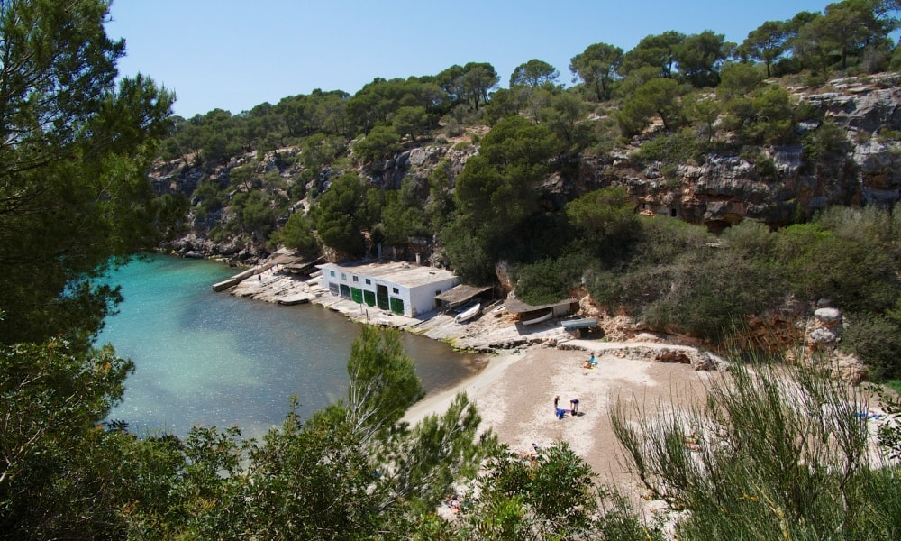Llucmajor Town property market is nearby Cala Pi residential and resort area.