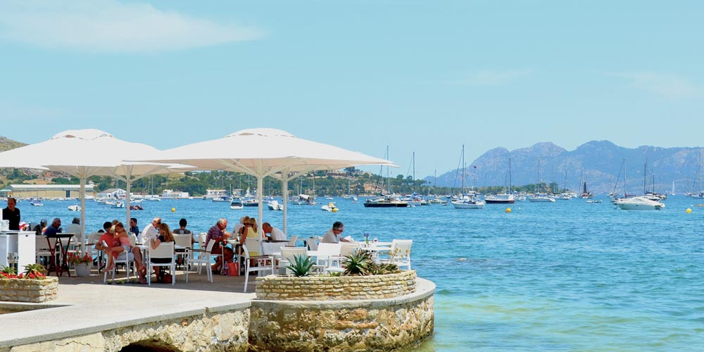 Beach cafe pollensa bay lifestyle and second properties in mallorca and ibiza casafari